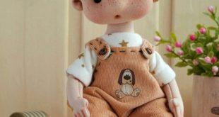 Kreativitas kerajinan boneka porselen, bisa dapat keuntungan berlipat ganda