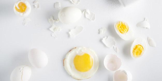 Perbedaan khasiat antara kuning telur vs putih telur